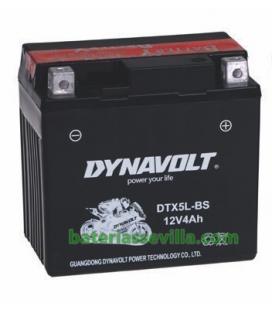 YTX5L-BS moto 12v 4ah DTX5L-BS baterias sevilla