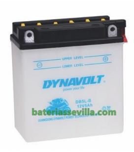 YB5L-B moto 12v 5ah DB5L-B baterias sevilla