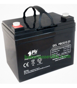 Batería Gel 33Ah 12v Premium battery