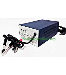 Cargador-bateria-plomo-acido-agm-24v-8Ah-pinzas-LC-2118-baterias-sevilla