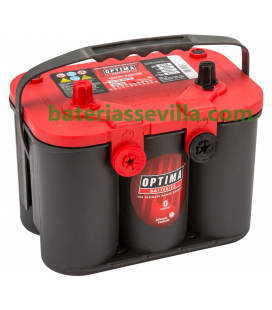 Batería Optima RT U 4.2 RedTop 12v 50Ah 815A Arranque