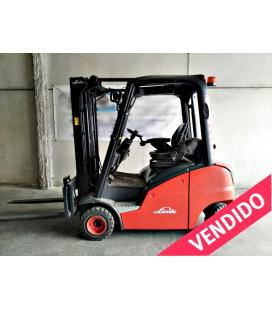 Linde H 20D con 4ª Válvula Carretilla elevadora Diesel H20D vendida