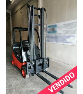 Linde H 16 D Carretilla elevadora Diésel con 4ª valvula 00 Vendida