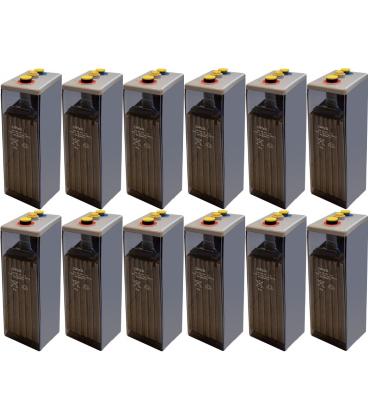 Kit 24V Baterias 6 OPZS 600 2V 966Ah Bateria Estacionaria Solar Sevilla