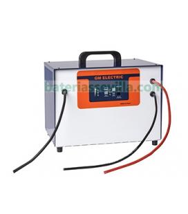 Cargador monofasico CBMPW 24V 40A para baterias traccion plomo-acido GM electric bateria Sevilla